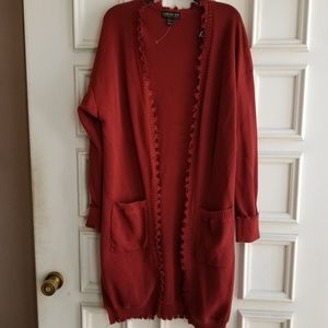 NWOT Forever 21 Rust Sweater size 1X